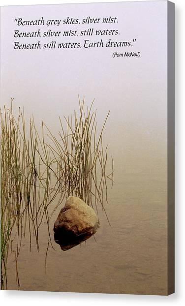 Haiku Poster Canvas Print by Roger Soule