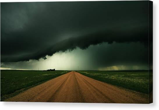 Hail Shaft Canvas Print