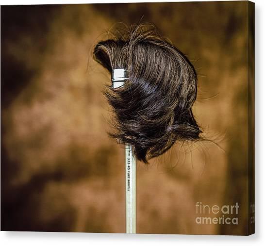 Hairbrush Canvas Print
