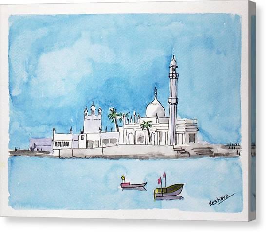 Haji Ali Mumbai Canvas Print