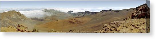 Haleakala Crater Panorama Canvas Print