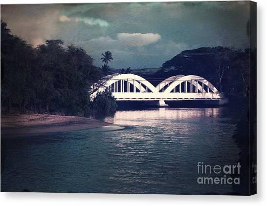 Haleiwa Bridge Canvas Print