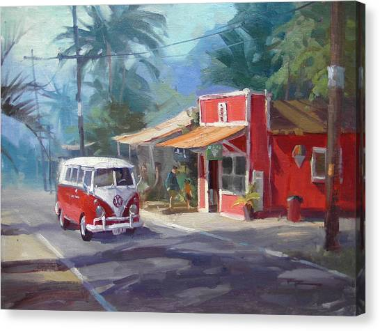 Canvas Print - Haleiwa by Richard Robinson