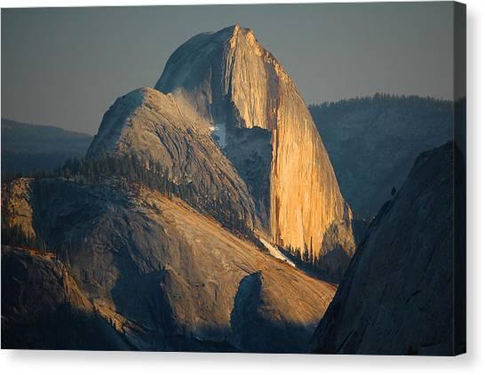 Half Dome At Sunset - Yosemite Canvas Print