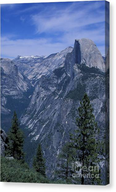 Half Dome From Washburn Point Canvas Print by Stan and Anne Foster