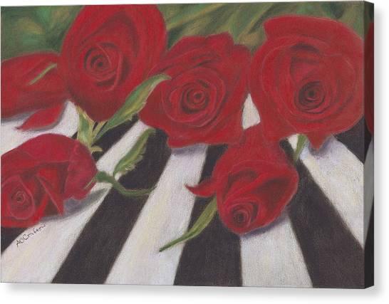 Half Dozen Red Canvas Print