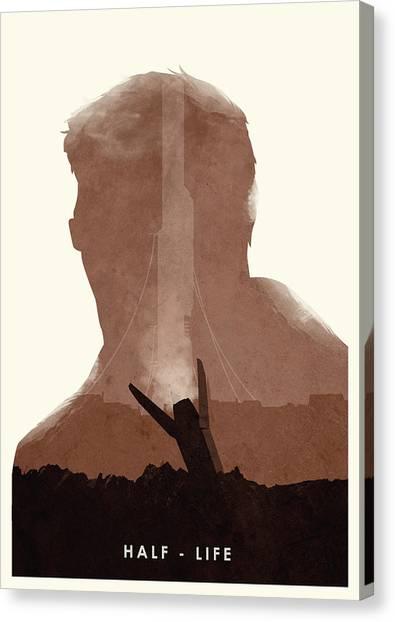 Half Life Canvas Print - Half Life 2 by Ripley