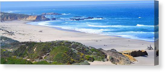 Half Moon Bay Canvas Print