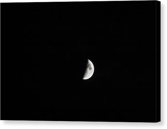 Half Moon Canvas Print by Mark Russell