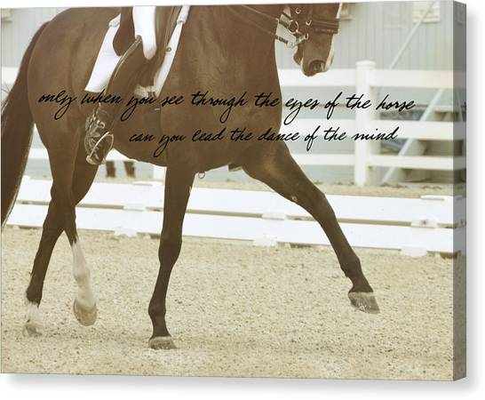 Half Pass Quote Canvas Print by JAMART Photography