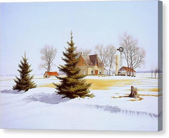Halfway Into January Canvas Print by Conrad Mieschke