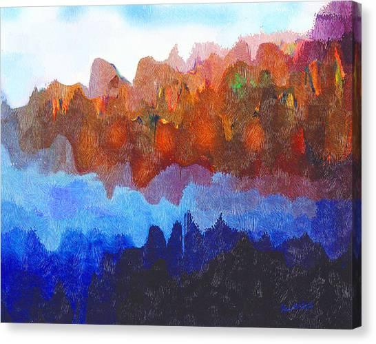 Haliburton Highlands Canvas Print