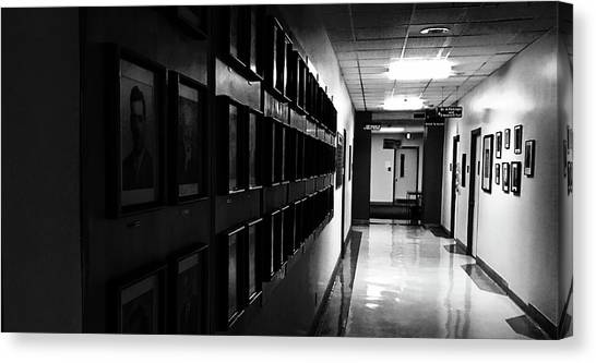Hall Of Memories Canvas Print