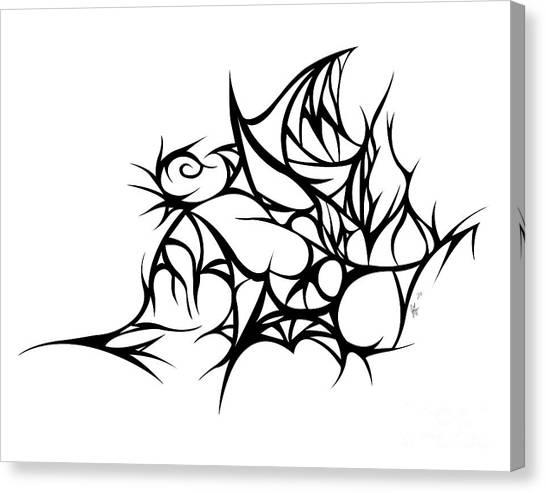 Hallow Web Canvas Print