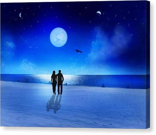 Night Blessings Canvas Print