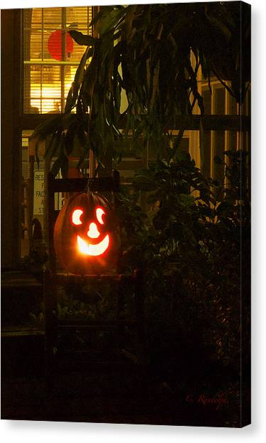 Halloween Beacon Canvas Print
