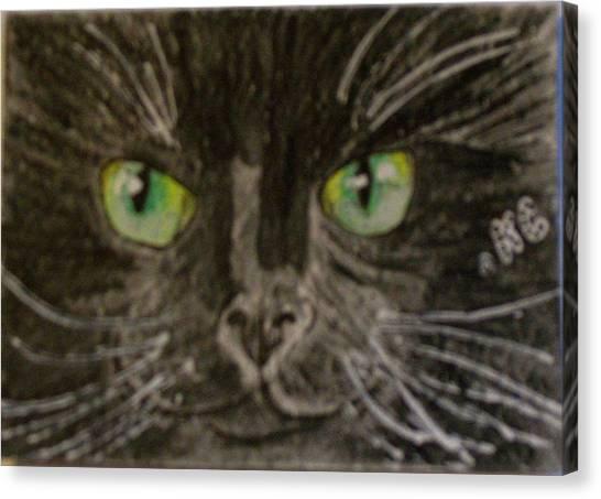 Halloween Black Cat I Canvas Print