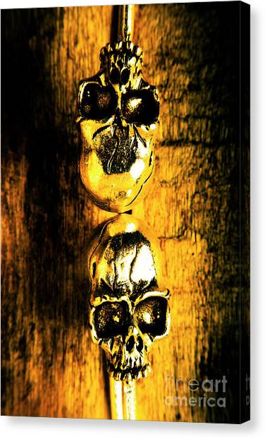 Two Canvas Print - Halloween Bones by Jorgo Photography - Wall Art Gallery