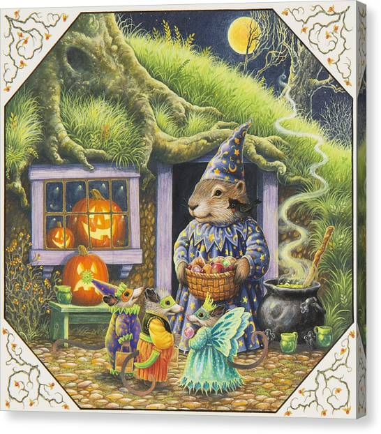 Bittersweet Canvas Print - Halloween Costumes by Lynn Bywaters