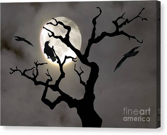 Halloween Canvas Print by Jim Wright