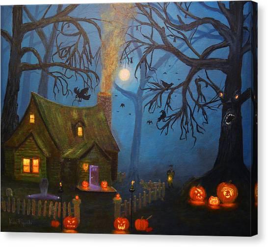 Halloween Night Canvas Print