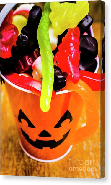 Party Canvas Print - Halloween Party Details by Jorgo Photography - Wall Art Gallery