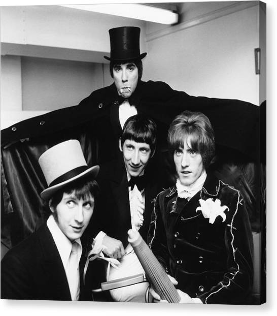 The Who - Halloween 1960's Canvas Print