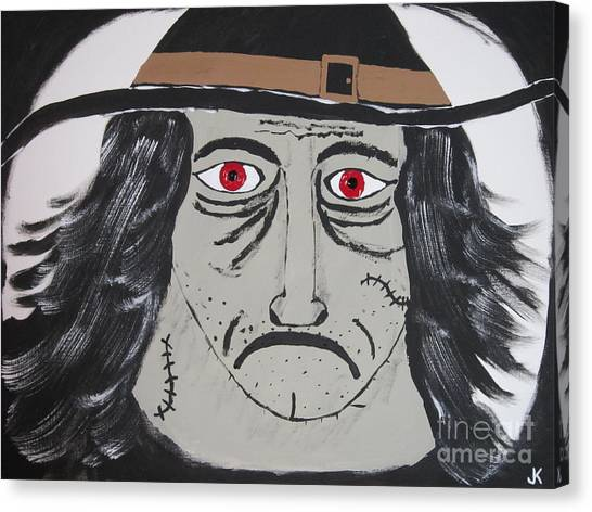Canvas Print - Halloween Witch by Jeffrey Koss