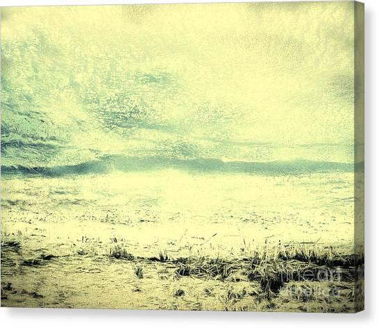 Hallucination On A Beach Canvas Print