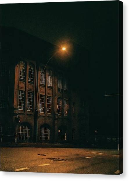 Germany Canvas Print - Hamburg. Hanseatic Architecture By by Patrik Duda