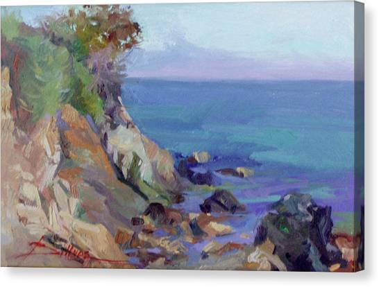 Hamilton Cove Catalina Island Canvas Print