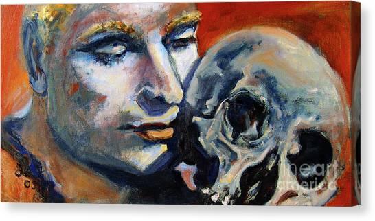 Hamlet Laurence Olivier William Shakespeare Canvas Print