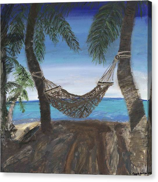 Hammock Haven Canvas Print by Maggie  Morrison