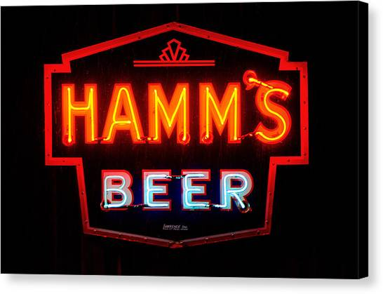 Hamm's Beer Canvas Print