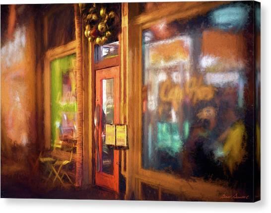 Hampden Cafe Canvas Print