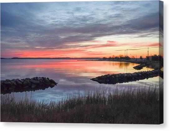 Hampton Sunrise Canvas Print