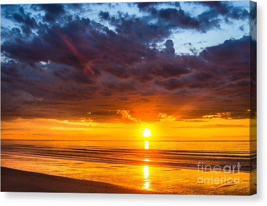 Hampton Sunrise Canvas Print