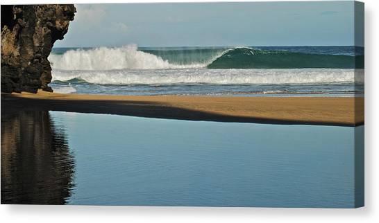 Hanakapiai Beach 1287b Canvas Print