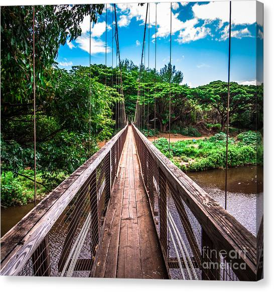Hanapepe Bridge Canvas Print