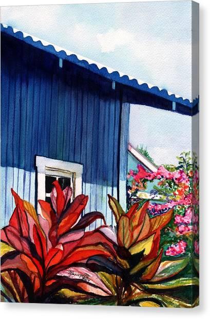 Hanapepe Town Canvas Print