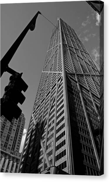 Hancock - Chicago - Canvas Print by Miranda  Miranda