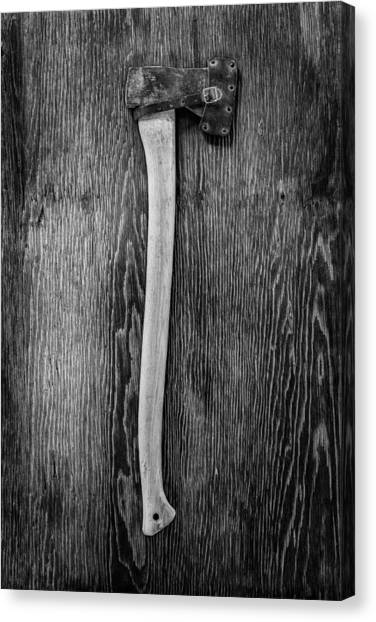 Axes Canvas Print - Hand Forged Axe by YoPedro