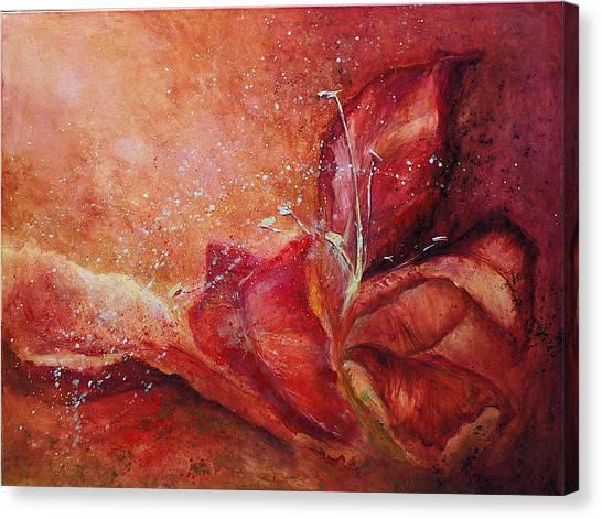 Handful Canvas Print by Aneta  Berghane