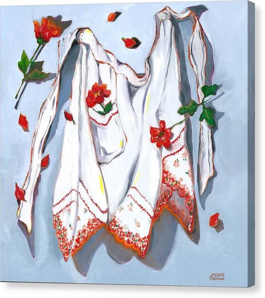 Handkerchief Apron Canvas Print