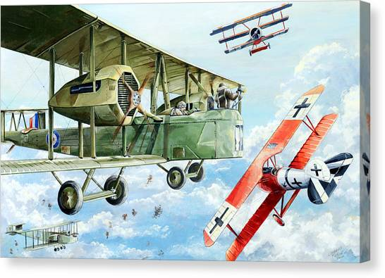 Luftwaffe Canvas Print - Handley Page 400 by Charles Taylor