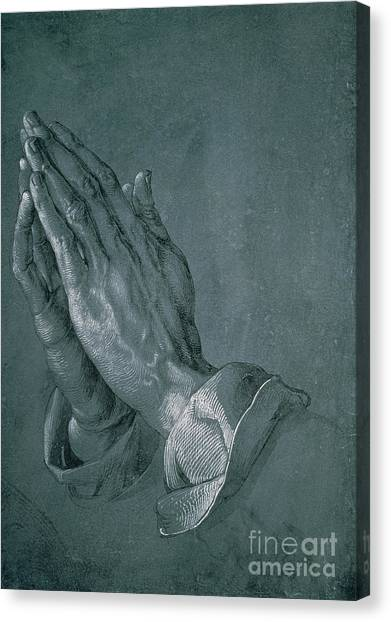 Apostles Canvas Print - Hands Of An Apostle by Albrecht Durer