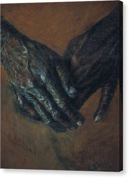 Hands Of Time Canvas Print by Tommy  Winn