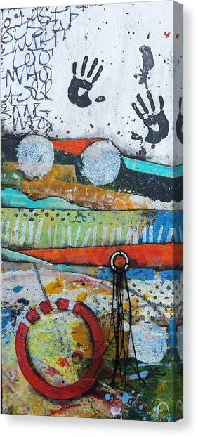 Canvas Print - Hands Up In The Sky by Laura Lein-Svencner