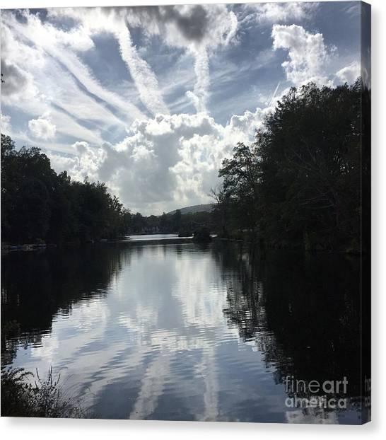 Handsome Cloud Canvas Print