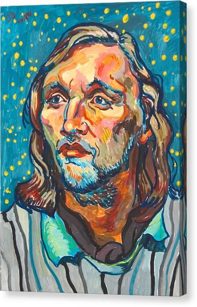 Handsome Man Canvas Print by Vitali Komarov